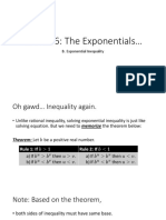 Exponential Inequalities