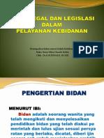 Aspek Legal Dalam Pelayanan Kebidanan