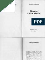 Dioniso e Céu Aberto - Marcel Detienne