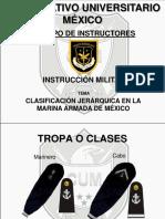 Jerarquias de la Armada de México