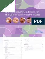 Late Preterm Guidelines Npa