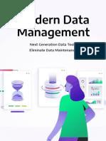 Modern Data Management_AWS