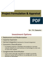 NICMAR - PROJECT FORMULATION AND APPRAISAL