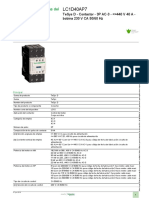Buscador de Componentes Para El Arranque Motor_LC1D40AP7
