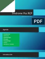 Síndrome Pos RCP