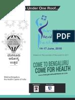Bangalore Health Festival 2018 Brochure