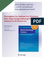 Biotechnol Lett