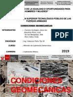 Condiciones Geomecanicas
