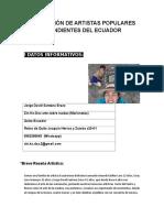 Ficha Asociación de Artistas Populares Independientes Del Ecuador (1)