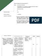 Plan de Estudios de Mecatronica Automotriz