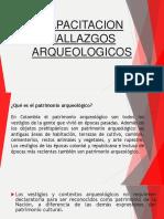 CAPACITACION HALLAZGO ARQUEOLOGICO