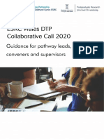 Guidance for Collaborative Call_July19