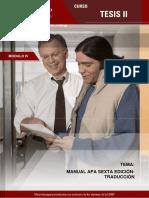 Manual APA Sexta Edición