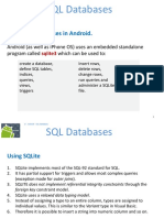 Android SQL Databases