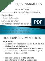 CONSEJOS EVANGELICOS