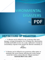 Environmental Disaster