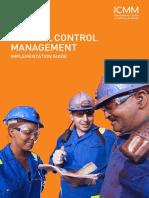 Critical Control Management Iccm 2015