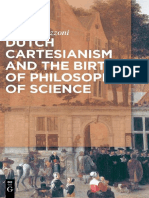 Andrea Strazzoni - Dutch Cartesianism and the Birth of Philosophy of Science