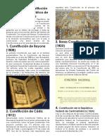 Historia de La Constitución Política de La República de Guatemala