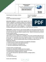 Prueba Diagnóstica de Lenguaje y Literatura                                   Primer Año de Bachillerato.docx