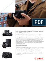 EOS M6 Mark II Brochure