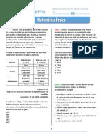Matemática Básica - Questões