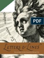 Letras e linhas