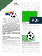 Resumen de Las 17 Reglas de Juego de La FIFA Para Practicar Fútbol Socce1