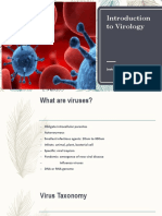 Intro to Virology for Medtechs