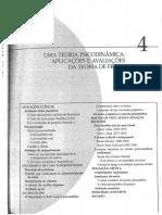 CÁP. 4 - TEORIA PSICODINÂMICA - APLICAÇÕES E AVALIAÇÕES DA TEORIA DE FREUD