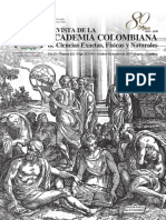 Revista colombiana de ciencias exactas