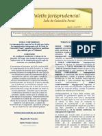 Boletin Jurisprudencial 2019-08-16