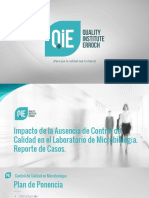 Control de Calidad en Microbiología