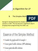 Lc 6 LP Simplex Method