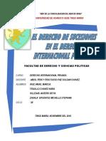 Trabajo Internacional Privado
