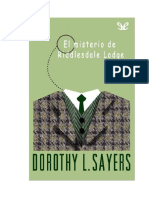 Sayers Dorothy L - Lord Peter Wimsey 02 - El Misterio de Riddlesdale Lodge