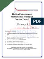 Timo Practice Paper i p3