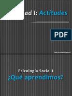 Ppt_Unidad I_Tema 1. Qué Son Las Actitudes_2019_2.0