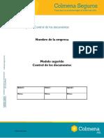ANEXO 20. Procedimiento Control de Documentos