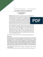 Entrepreneurship Development in Banglade (1)