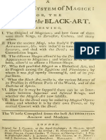 Compleat System of Magick or the History of the Black Art Part 1