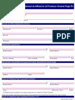 PNG-AC-PRO-16-DS-1 Solicitud de Afiliación Al Producto Visanet Pago Programado Del Sistema VISANET PERU v4