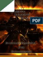 SGL Sponsorship Packet - Season 2