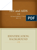 Hiv and Aids Placino