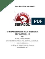 Criterios Fundamentrales Para La Tarea Exegetica[1]