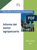 Informe Sector Agropecuario