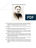 Cronología de José María Arguedas