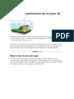 Métodos de perforación de un pozo de agua.docx