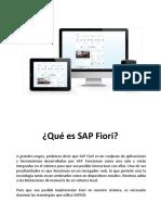 SAP FIORI - Generalidades