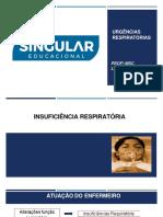 07, 08, 14 e 15.08.19 1-Insuficiencia Respiratoria - Leda Lima
